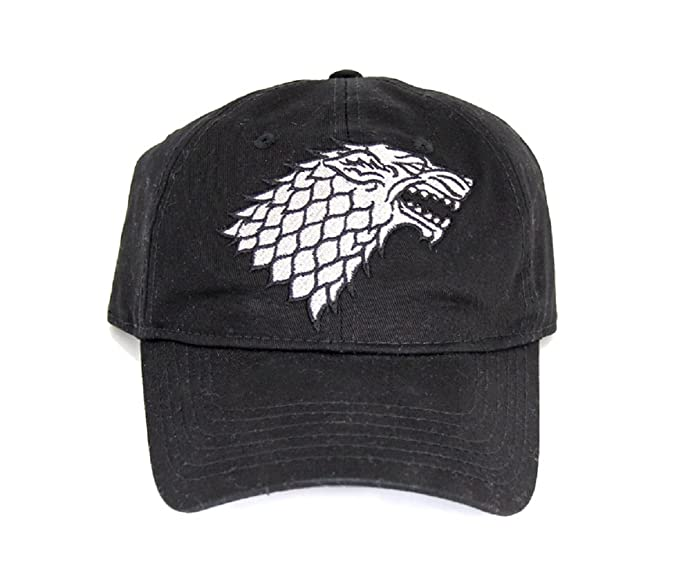 Game of Thrones Winter is Coming House Stark Dire Wolf Snapback Cap   Amazon.ca  Clothing   Accessories 7b2b1edc24c
