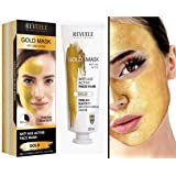 Revuele Gold Mask - Anti-Ageing Face Mask, 80ml, 97 grams