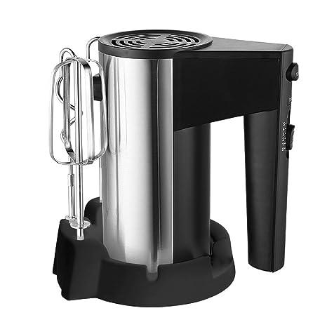 Wjsw Amasadora Robot De Cocina 2 En 1Eléctrico Batidora,Batidor De Globo 5 Ajustes Velocidad