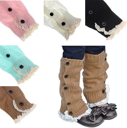 Lace Boot Topper Toddler Boot Socks Baby Girl/'s Leg Warmers USA Seller