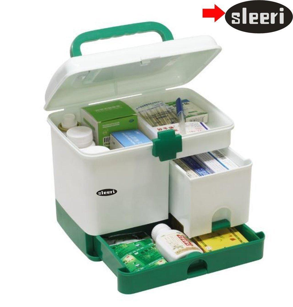 Genial Amazon.com: Household Multi Layer First Aid Kit Multifunctional Medicine Box /first Aid Kit/storage Boxes Organizer By Sleeri: Home U0026 Kitchen