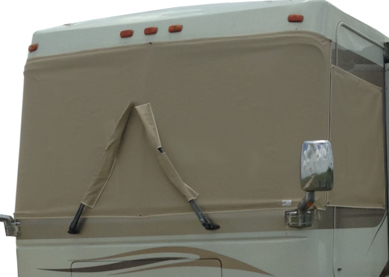 TAN SUNGUARD Windshield Cover