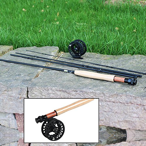 Sougayilang saltwater freshwater fly fishing rod with reel for Saltwater fly fishing reels