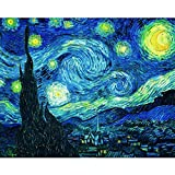 5D Diamond Painting Kit Full Drill DIY Rhinestone Embroidery Cross Stitch Arts Craft for Home Wall Decor Abstract Starry Sky 12x16 inch
