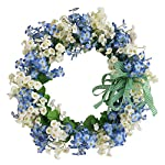 Grace-Florist-Blue-White-Handmade-Silk-Flower-Head-Floral-Front-Door-Wreath-Home-Wall-Decor-for-Spring