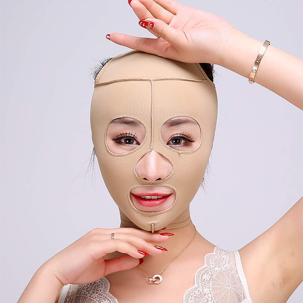 XIANWEI Soin Visage Lifting Minceur Masque Bandage Couverture Complete Reduit Visage Double Soin Menton Ceinture Beaute Perte Poids Size