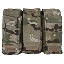 Fox Outdoor Products AR-15/AK-47 Triple Mag Pouch Multicam