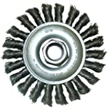 Shark 13982    7-Inch by 5/8-11NC Knotted Wire Wheel Brush with Steel