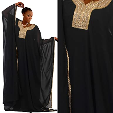 26632dc2d2a55 Designer Party wear Dubai Kaftans Royal Wedding Maxi Dress Abaya ...