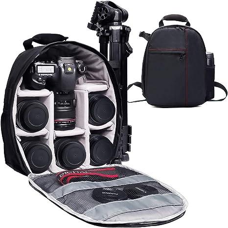SLR Digital SLR Lens Camera Bag Carry Case S//M//L For GoPro Hero 3 4 5 6 7 Cover