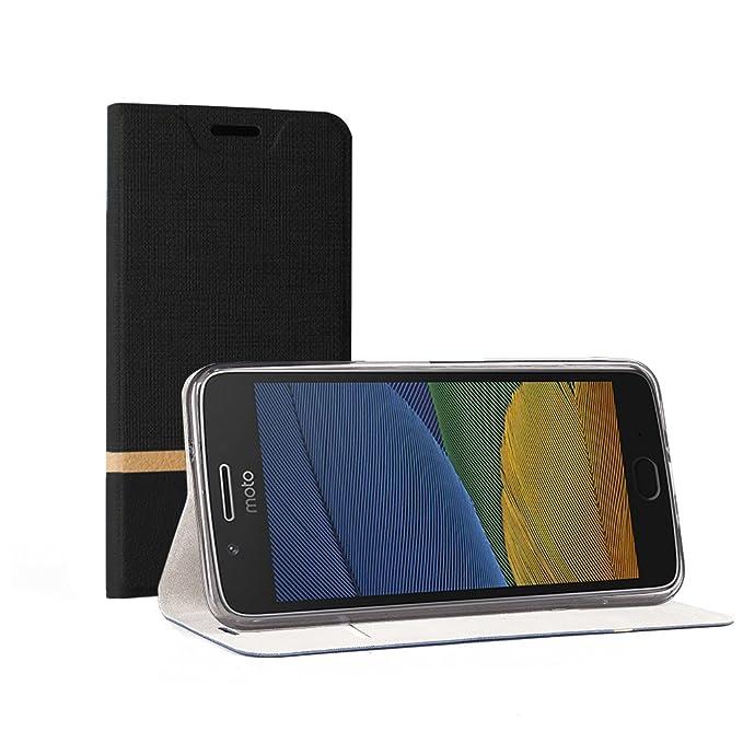 """3 opinioni per Custodia Moto G5S Plus 5.5"""", SunFay Wallet Cover Moto G5S Plus 5.5"""" Protettiva"""