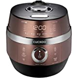 Cuckoo CRP-JHVR1009F Multifunctional and Programmable Electric Induction Heating Pressure Rice Cooker, Fuzzy Logic and Intell