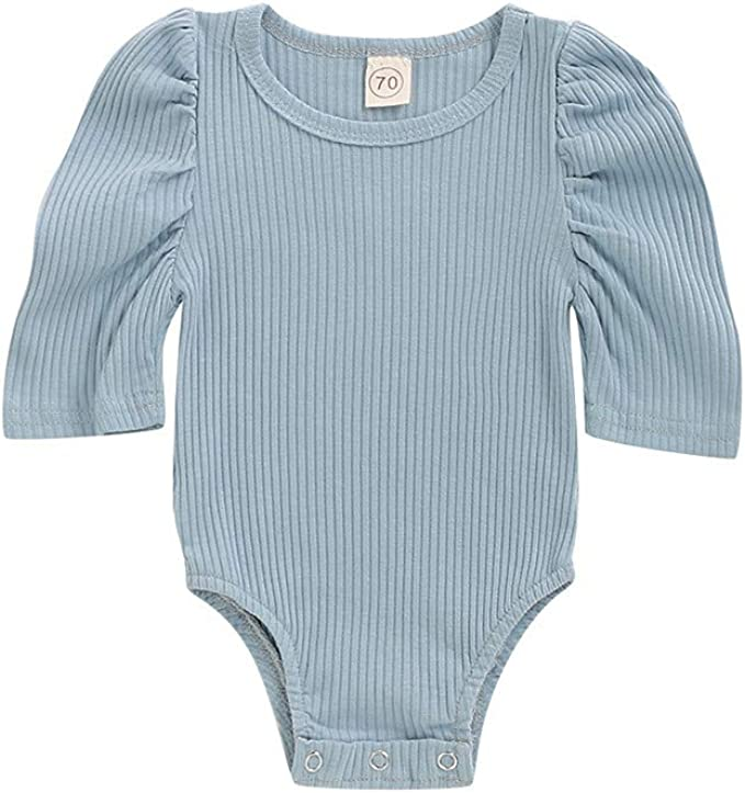 HEETEY S/äugling Baby Jungen M/ädchen Halbarm Feste Strampler Bodysuit Kleidung Einteiliger Strampler Kleinkind Spielanzug Prinzessin Neugeborenes Kleidung Babybekleidung