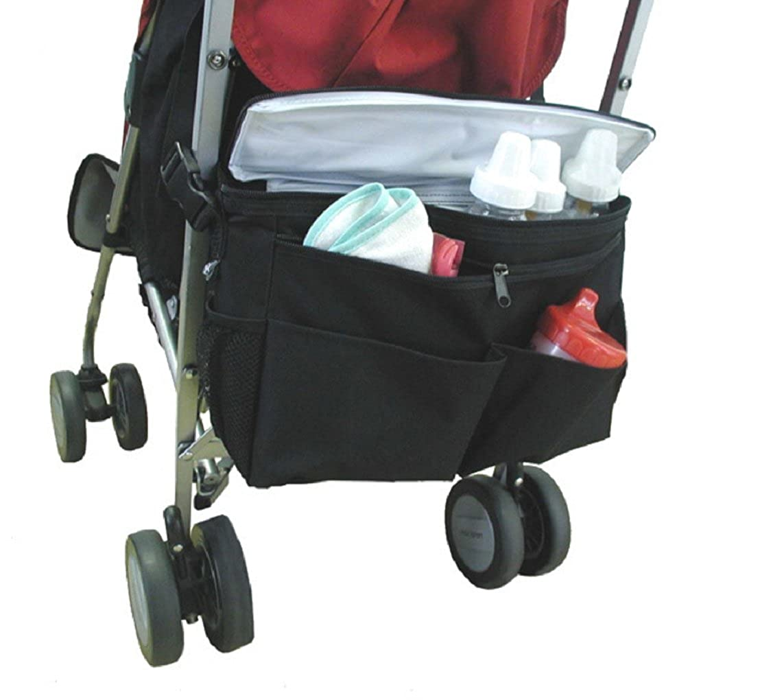 ADOO Kinderwagen Buggy Organizer, Aufbewahrungstasche mit Schulterriemen Baby Kinderwagentasche