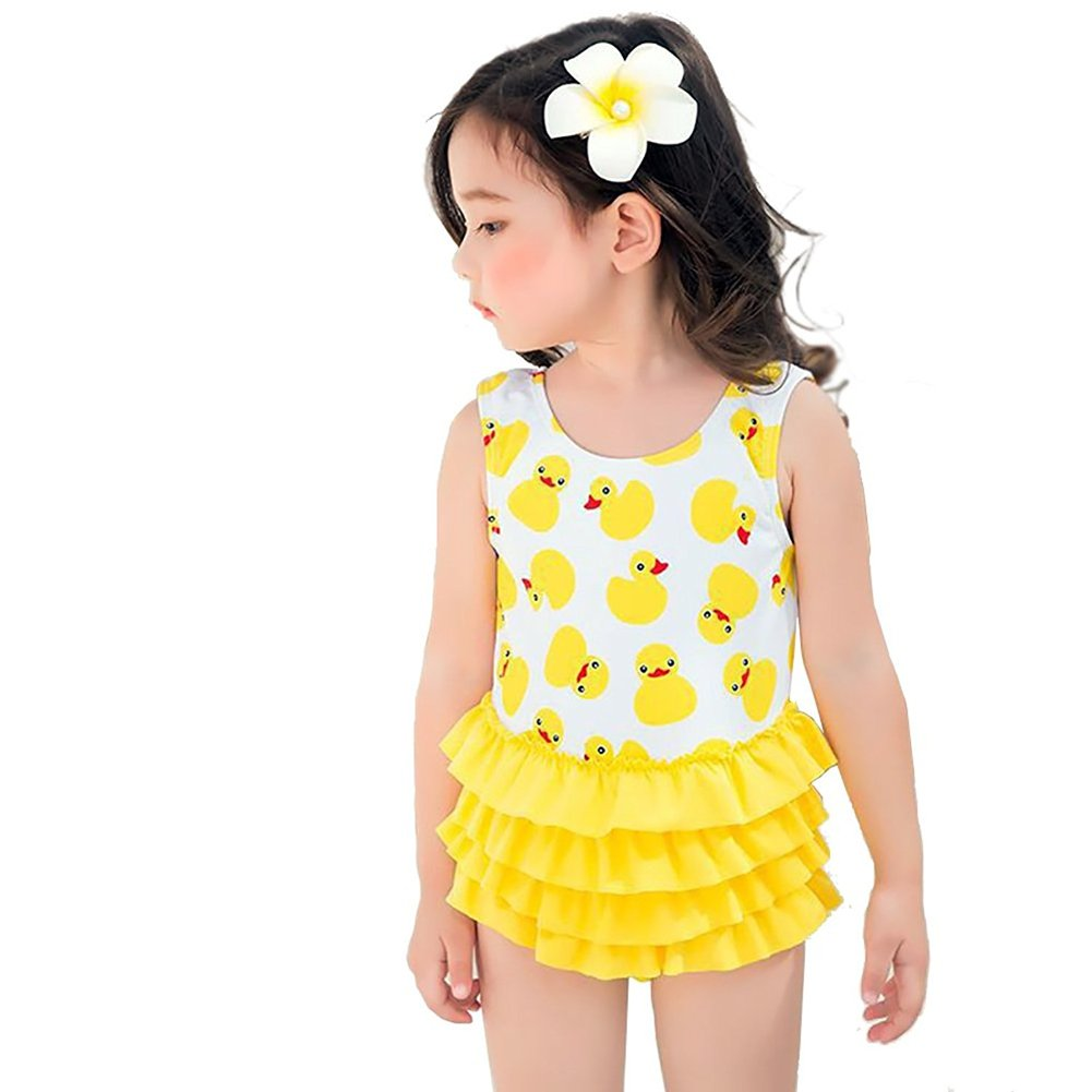 Baby Girls Swimsuit One Pieces Toddler Swimsuits for Girls Swimwear Bathing Suit 0-5t