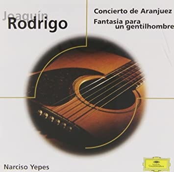 Concierto de Aranjuez/+: Narciso Yepes, Joaquin Rodrigo: Amazon.es: Música