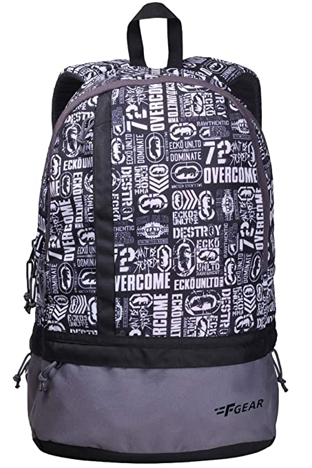 f2ab2559491 F Gear Burner P8 26 Ltrs White Casual Laptop Backpack (2184)  Amazon.in   Bags, Wallets   Luggage
