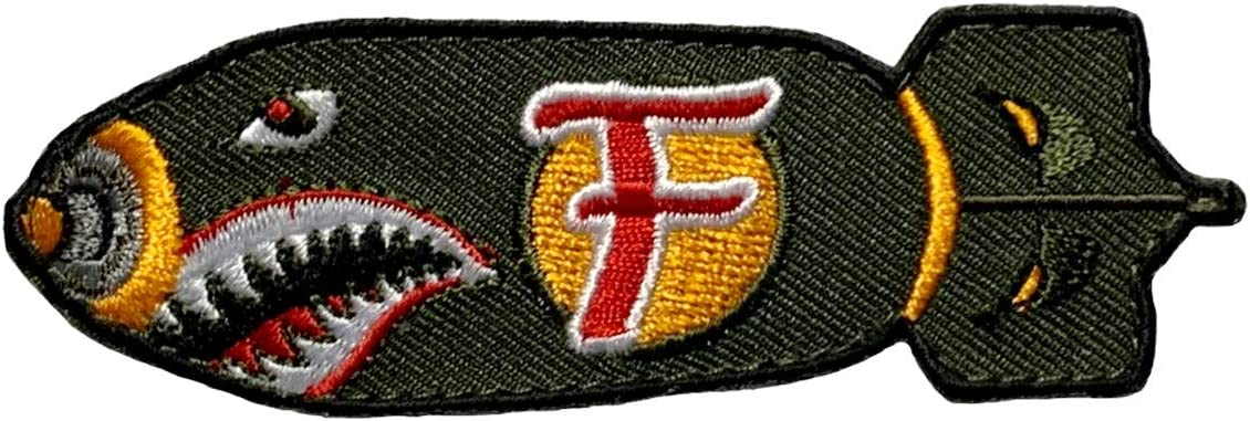 """Dropping the F Bomb~Embroidered Patch~3 1//2/"""" x 1 1//8/""""~Iron Sew On~FREE US Mail"""