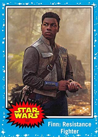 2019 Topps Star Wars Journey To Rise Of Skywalker 107 Finn Resistance Fighter Trading Card At Amazon S Entertainment Collectibles Store