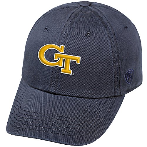 Elite Fan Shop Georgia Tech Yellow Jackets Womens Hat Icon (Georgia Tech Lady Jackets)