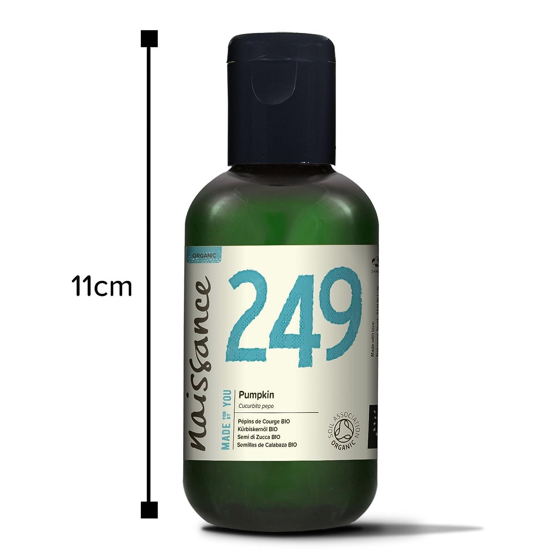 Naissance Aceite Vegetal de Semillas de Calabaza BIO 100ml - 100% puro, prensado en frío, certificado ecológico, vegano y no OGM ...: Amazon.es: Belleza