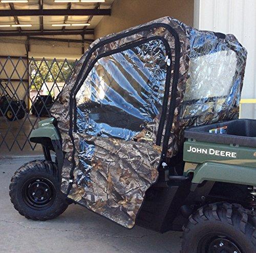 John Deere XUV 550 OPS Soft Cab - 2 Passenger - Camo (Realtree Camo Snow Hardwoods)