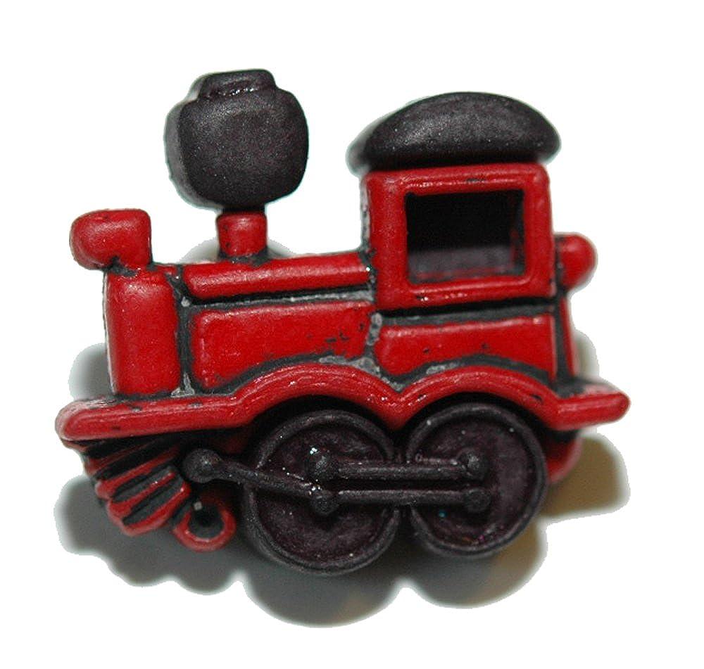 Jazzworks,LLC Color Rojo Brillante Motor de Tren Corbata Pin Tack ...