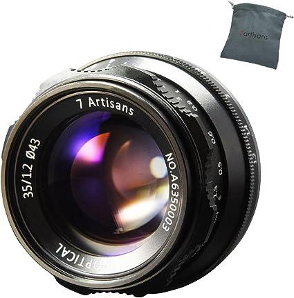 7artisans 35mm F1 2 Manual Focus Lens Aps C Passform Kamera