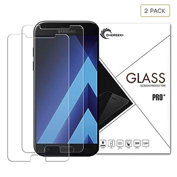 LaTEC Samsung Galaxy A3 2017 templado protector de pantalla de ...