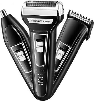 Kit de afeitadora multi groomer para hombre USB recargable todo-en ...