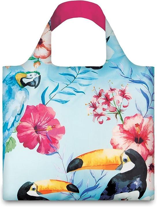 LOQI WILD Birds Bag - Einkaufstasche