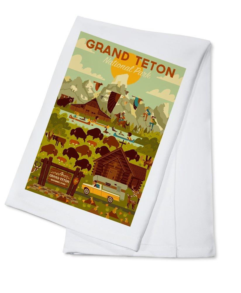 正規店仕入れの グランドティトン国立公園、ワイオミング州 – Towel – Geometric 15oz Mug LANT-3P-15OZ-WHT-80495 Cotton B072PZ1QD8 Cotton Towel Cotton Towel, プレイスユーメンズ&レディース:eaca8bfe --- podolsk.rev-pro.ru