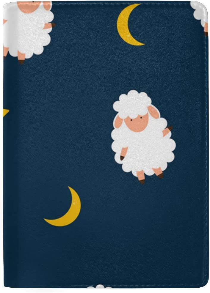 July Sheep Pajamas Multi-purpose Travel Passport Set With Storage Bag Leather Passport Holder Passport Holder With Passport Holder Travel Wallet