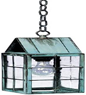 product image for Brass Traditions 322 SHDC Medium Hanging Lantern 300 Series, Dark Antique Copper Finish 300 Series Hanging Lantern