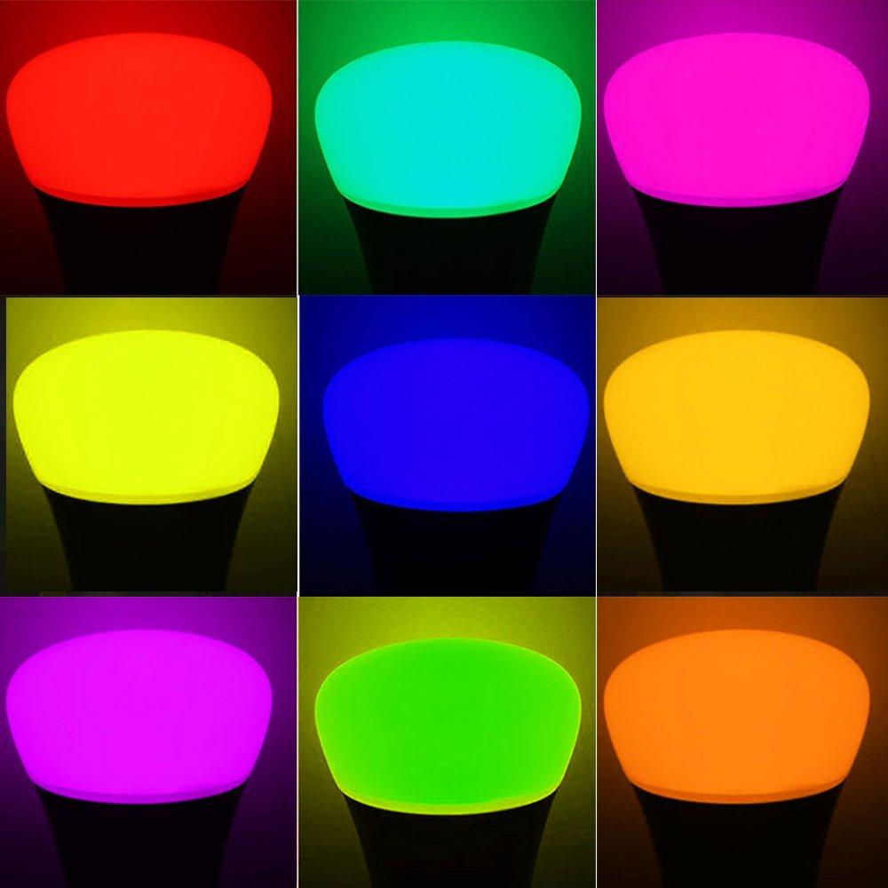 Led lampen farbig images mbel furniture ideen minger 10w rgbw led lampen e27 farbige leuchtmittel rot grn blau minger 10w rgbw led lampen parisarafo Images