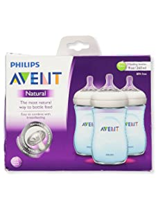 Philips Avent Natural Bottle 3pk - 9oz (Boy)