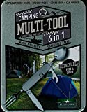 Meridian Stainless Steel 6 in 1 Camping Multi-Tool Bottle Opener Knife Spoon Fork Corkscrew Can Opener