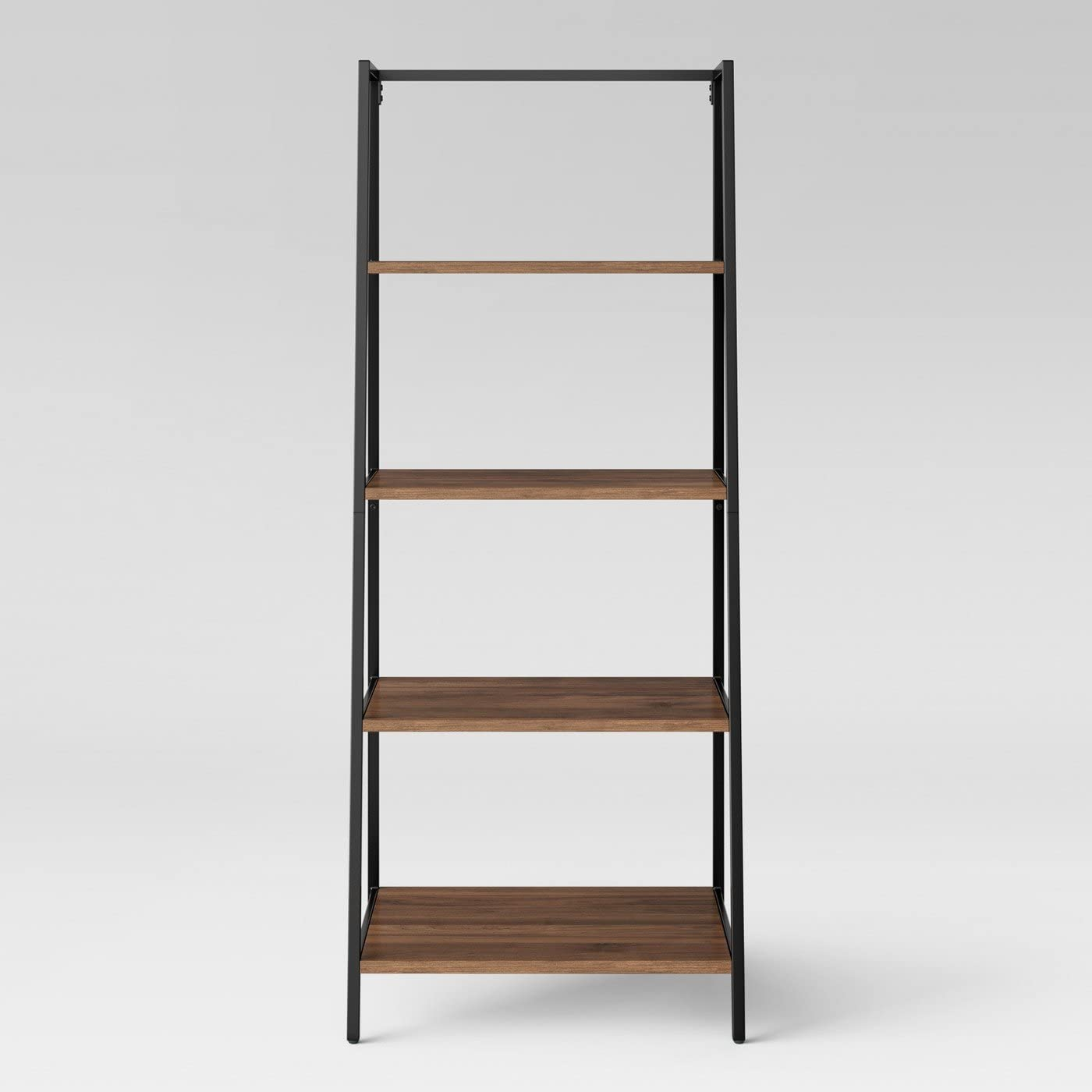 Project 62 Darley 4 Shelf Trestle Bookcase - Walnut