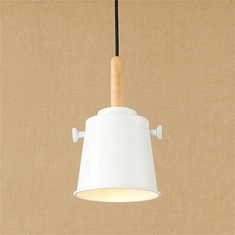 E27 Vintage luz colgante de color tapa forma de techo luces ...