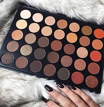 Paleta de sombras de ojos de 35 Colores, marca de confianza del Reino Unido.: Amazon.es: Belleza