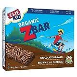 CLIF KID ZBAR - Organic Energy Bar - Chocolate Brownie - (36 Gram Snack Bar, 5 Count) (packaging may vary)