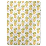 I Want Pineapples Fitted Sheet: King Luxury Microfiber, Soft, Breathable