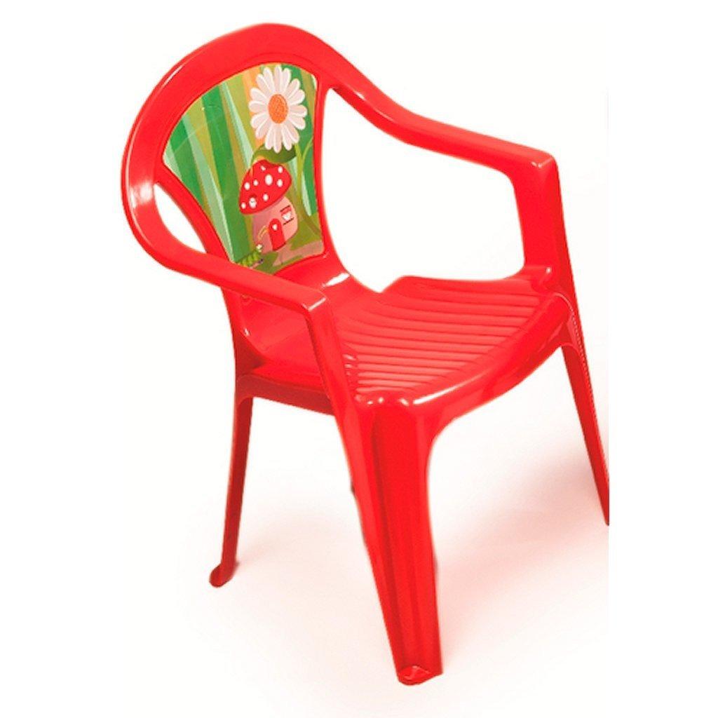 PARADISO Poltroncina per bambini, colore: rosso Paradiso Toys® T02631