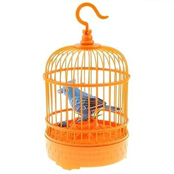 Amazon.es: Sharplace Jaula de Pájaro Control de Sonido Juguetes ...