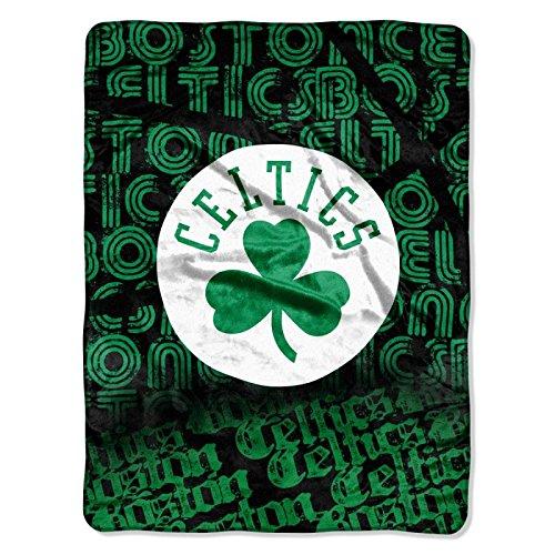 The Northwest Company Officially Licensed NBA Boston Celtics Redux Micro Raschel Throw Blanket, 46'' x 60''