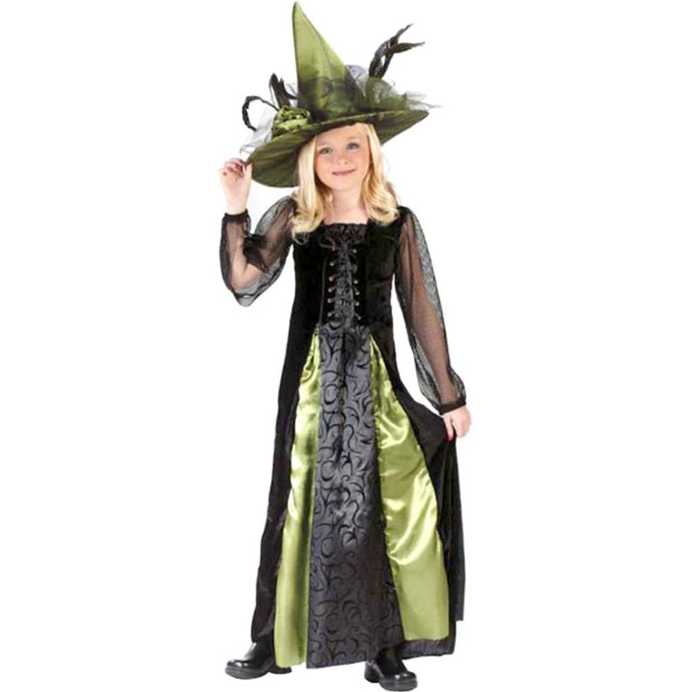 Child Goth Maiden Witch Costume Size: Youth Large 12-14