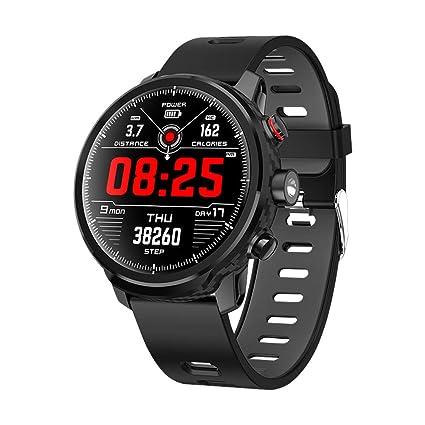 Qimaoo Reloj Inteligente, Smartwatch Hombre Mujer IP68 Impermeable Reloj Smart Watch con Pulsómetro, Monitor de Calorías, Múltiples Modos de Deportes, ...