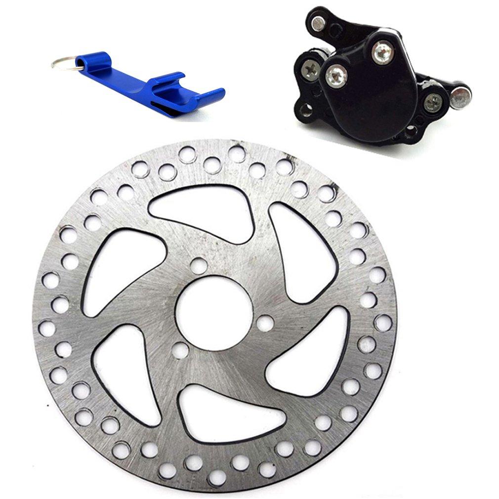 TC-Motor 29mm 140mm Brake Disc Rotor + Rear Disc Brake Caliper For 2 Stroke Minimoto 47cc 49cc Pocket Bike Mini Moto Scooter Dirt Bike Quad ATV