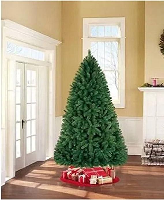 amazoncom holiday time unlit 75 donner fir artificial christmas tree home kitchen - Silvertip Fir Christmas Tree