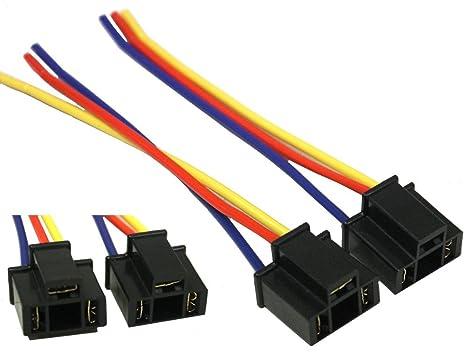 Aerzetix set di connettori con fili cablati per lampade